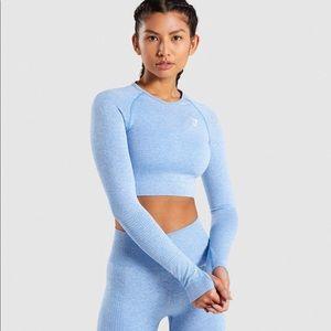 Gymshark long sleeve crop top